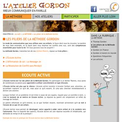 Méthode Gordon communication parents-enfants : l'écoute active et le message je