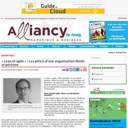 « Lean et agile » : Les piliers d'une organisation fluide et pérenne