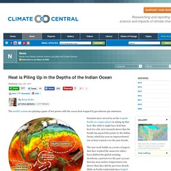 Heat is Piling Up in the Depths of the Indian Ocean