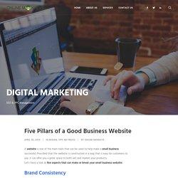 Five Pillars of a Good Business Website - Online Monkeys