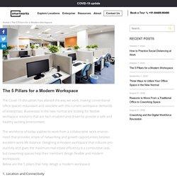 5 Pillars that Helps to Design a Modern Workspace