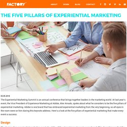 The Five Pillars of Experiential Marketing