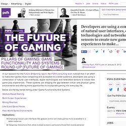 Pillars Of Gaming: Game Functionality And Systems Round-Up [Future Of Gaming]