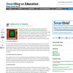 6 pillars of a 1:1 initiative SmartBlogs
