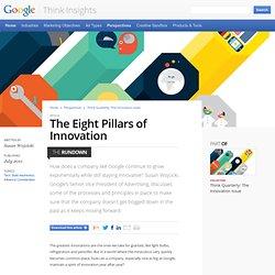 The Eight Pillars of Innovation