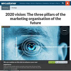 2020 vision: The three pillars of the marketing organisation of the future