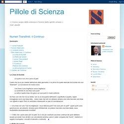 Pillole di Scienza: luglio 2010