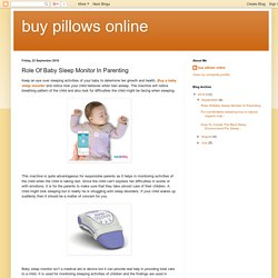 Role Of Baby Sleep Monitor In Parenting