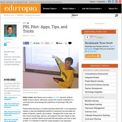 PBL Pilot: Apps, Tips, and Tricks