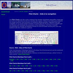 Pilot Charts - Iceweasel