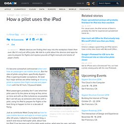 How a pilot uses the iPad — Apple News, Tips and Reviews