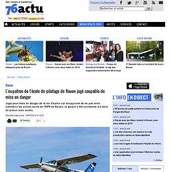 Du sursis requis contre l'ex-patron de l'école de pilotage de Rouen