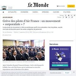 Grève des pilote d'Air France : un mouvement « corporatiste » ?