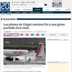 Les pilotes de Cityjet mettent fin à une grève partielle d'un mois
