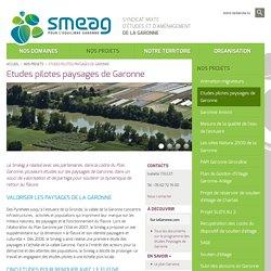 Etudes pilotes paysages de Garonne - SMEAG