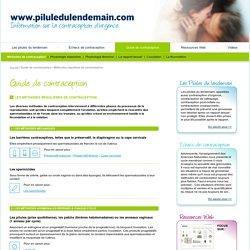 Information sur la contraception d'urgence