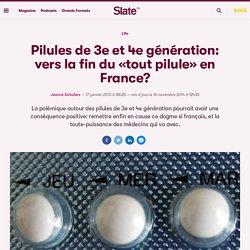Pilules de 3e et 4e génération: vers la fin du «tout pilule» en France?