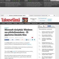 Microsoft kampittaa nyt Applea pilvessä - Talouselämä