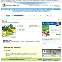 Le piment, une source d'antioxydants et de capsaïcine