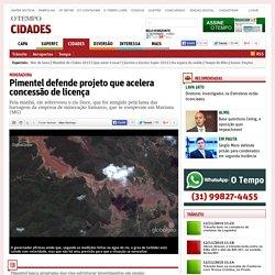 Pimentel defende projeto que acelera concessão de licença