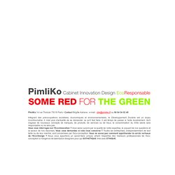 PimliKo Cabinet Innovation-Design Eco Responsable