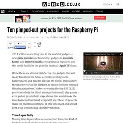 Ten pimped-out projects for the Raspberry Pi (Wired UK)