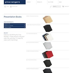 Pina Zangaro : Product Types