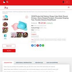 Buy Pinata Half Sphere Round Shape Cake Mold - Mart24Online