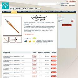 Pinceau aquarelle lavis Aquarellys série 872RO Léonard n°000