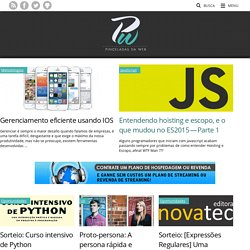 Pinceladas da Web - Aprenda HTML5, CSS3, Javascript e mais.