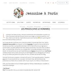 Les Pinces, Restaurant à Paris - Vive le homard