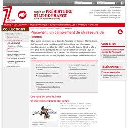 Pincevent - Musée de Préhistoire d'Île-de-France