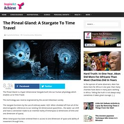 The Pineal Gland: A Stargate To Time Travel