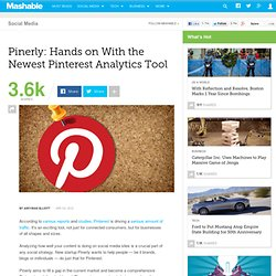 Pinerly: Hands on With the Newest Pinterest Analytics Tool