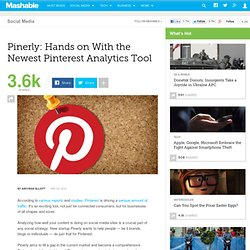 Pinerly: Hands on With the Newest Pinterest Analytics Tool - Aurora