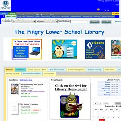 The Pingry Lower School Library