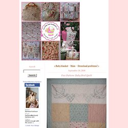 Pink and Barbara: Free Pattern: Baby Bird Quilt