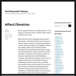 The Pinocchio Theory