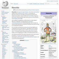 Pinocchio - Wikipédia - Aurora