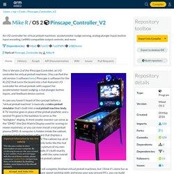 Pinscape_Controller_V2 - An I/O controller for virtual pinball machines:...