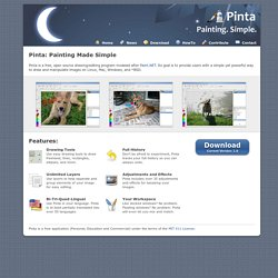 Pinta: Painting Made Simple - Pinta