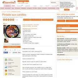 Pintade aux carottes : Recette de Pintade aux carottes - Marmiton