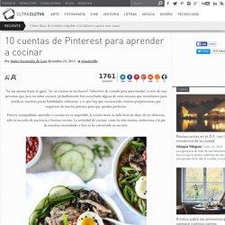 10 cuentas de Pinterest para aprender a cocinar