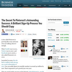 The Secret To Pinterest's Astounding Success: A Brilliant Sign-Up Process You Should Copy