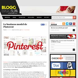 Le business model de Pinterest