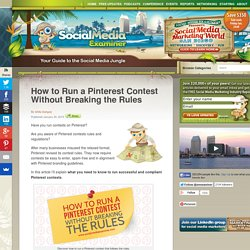 How to Run a Pinterest Contest Without Breaking the Rules
