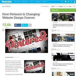 How Pinterest Changed Website Design Forever