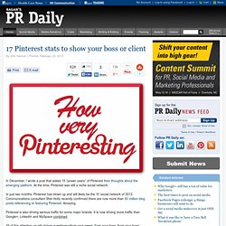 17 Pinterest stats to show your boss or client