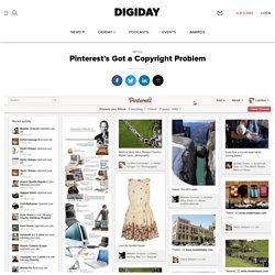 Pinterest's Got a Copyright Problem