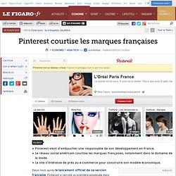 Pinterest courtise les marques françaises